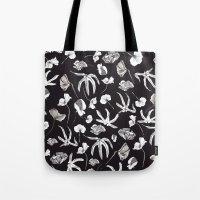 Plastic Jungle Pattern Tote Bag