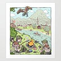 A Boy's Life Art Print