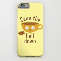 iPhone & iPod Case featuring Anxietea by David Olenick