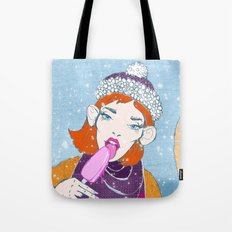 Ice Monkey Tote Bag