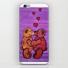 Bears in love iPhone & iPod Skin