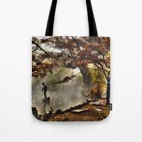 Steamy Days Tote Bag