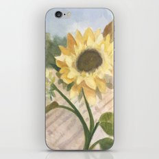 Sunflower Morning iPhone & iPod Skin