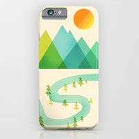 iPhone & iPod Case featuring Bend in the River by Jenny Tiffany