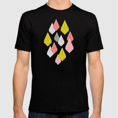 Raining Gems - Enchanted Mens Fitted Tee Black SMALL