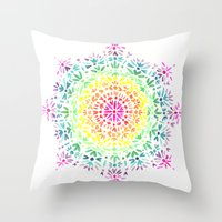 Find Your Center Throw Pillow