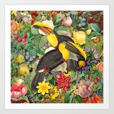 Toucans 2 Art Print