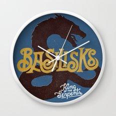 Basilisks Wall Clock