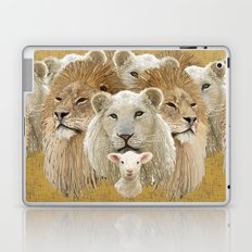 Lions led by a lamb Laptop & iPad Skin