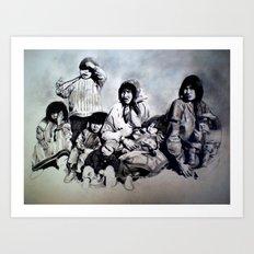 Spirit of the Family Art Print