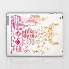 Santa Fe Garden – Pink/Orange Ombré Laptop & iPad Skin