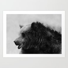 Big Bear #4 Art Print