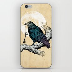 Raven's Key iPhone & iPod Skin