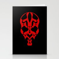 Hand of Rage (Darth Maul) Stationery Cards