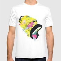 Homer 1. Mens Fitted Tee White SMALL