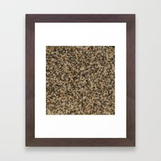 Granite Texture Framed Art Print