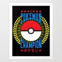 Champion Art Print