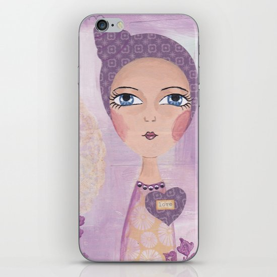 She knows the truth iPhone & iPod Skin