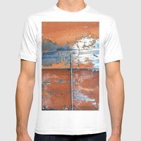 Rust And Metal Mens Fitted Tee White SMALL