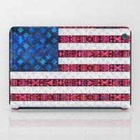 Tribal America - Flag iPad Case