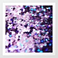 Grape Mix no. 2 - an abstract photograph Art Print