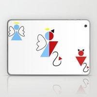 Dengel (Angel + Devil) Laptop & iPad Skin