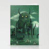 Stationery Cards featuring Age Of The Giants  by Terry Fan