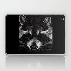 The Curious Raccoon Laptop & iPad Skin