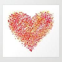 Love Is Colorblind Art Print