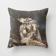 Bye Bye Birdy Throw Pillow