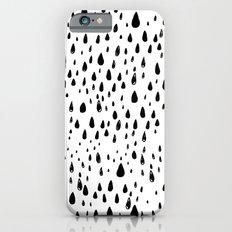 Polka rain drops Slim Case iPhone 6s