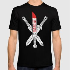 FEAR IS THE MIND KILLER - KINDJAL Mens Fitted Tee Black SMALL