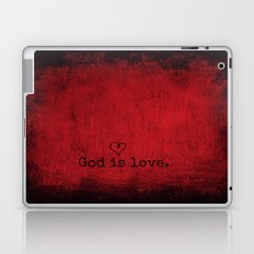 God is Love Laptop & iPad Skin