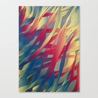 Modern Aquatic Nightsong… Canvas Print