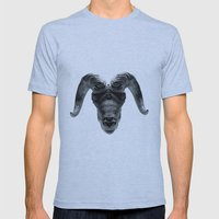 Big Horn Mens Fitted Tee Athletic Blue SMALL