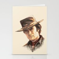 Clint Eastwood tribute Stationery Cards