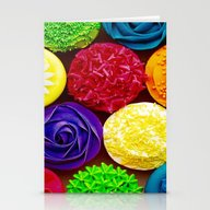 Vivid Dance Party Stationery Cards