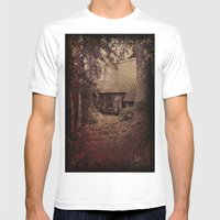 Granny's House Mens Fitted Tee White SMALL