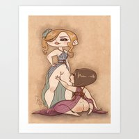 Spellbound Submissive Art Print