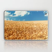 Wheat Fields Forever Laptop & iPad Skin