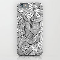 Straight Lines iPhone 6 Slim Case