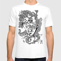 Living Dead Girl.  Mens Fitted Tee White SMALL