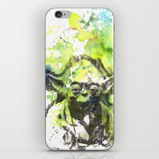 May the Force be with You Yoda Star Wars iPhone & iPod Skin