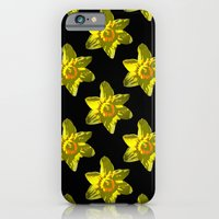 Daffodil On Black iPhone 6 Slim Case