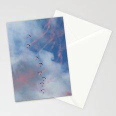 Dropping in Stationery Cards