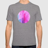 pink scales Mens Fitted Tee Tri-Grey SMALL
