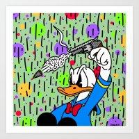 BLAOW ME! Art Print