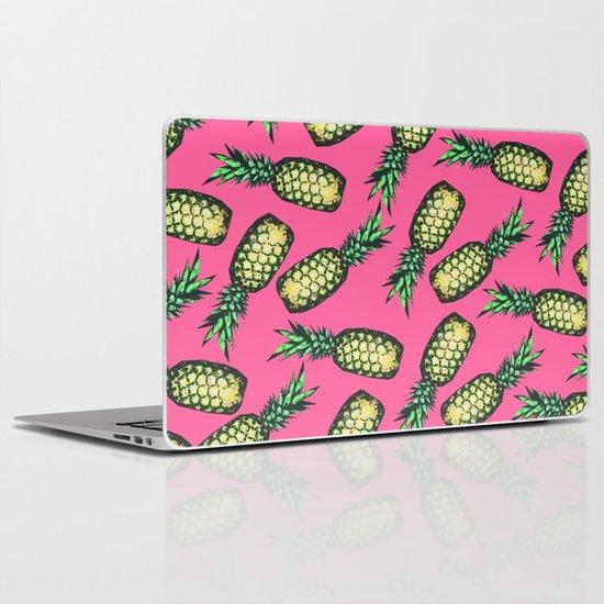Pineapple Pattern Laptop & iPad Skin