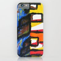 iPhone & iPod Case featuring Depression Begins by Greg Mason Burns