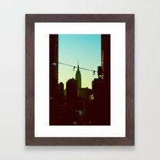 A View Of Bliss Framed Art Print
